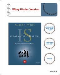 Introduction to Information Systems 6th Edition 9781119107996 1119107997
