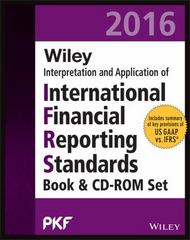 WILEY IFRS 2016: Interpretation and Application of International Financial Reporting Standards 1st Edition 9781119104414 1119104416