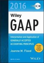 Wiley GAAP 2016: Interpretation and Application of Generally Accepted Accounting Principles CD-ROM 1st Edition 9781119106098 1119106095