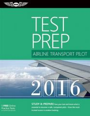 Airline Transport Pilot Test Prep 2016 1st Edition 9781619542426 1619542420