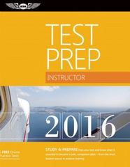 Instructor Test Prep 2016 1st Edition 9781619542402 1619542404