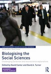 Biologising the Social Sciences 1st Edition 9781138922921 1138922927