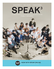 SPEAK (with Online, 1 term (6 months) Printed Access Card) 3rd Edition 9781305659506 1305659503