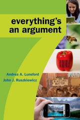Everything's An Argument 7th Edition 9781319029708 1319029701