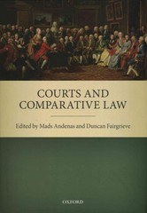 Courts and Comparative Law 1st Edition 9780191059032 019105903X