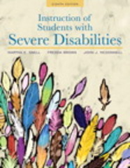 Instruction of Students with Severe Disabilities, Pearson eText with Loose-Leaf Version -- Access Card Package 8th Edition 9780134043388 0134043383