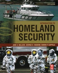 Introduction to Homeland Security 5th Edition 9780128020289 0128020288
