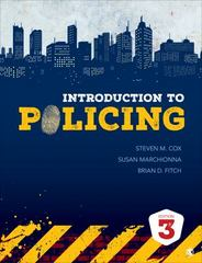 Introduction to Policing 3rd Edition 9781506307541 150630754X