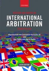 Redfern and Hunter on International Arbitration (Hardcover, eBook, and Android App) 6th Edition 9780198714255 0198714254