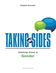 Taking Sides: Clashing Views in Gender 7th Edition 9781259171031 1259171035