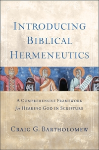Introducing Biblical Hermeneutics 1st Edition 9780801039775 0801039770