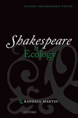 Shakespeare and Ecology 1st Edition 9780191088094 0191088099