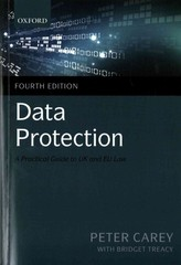 Data Protection 4th Edition 9780199687121 0199687129