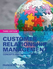 Customer Relationship Management 3rd Edition 9781317654766 1317654765