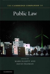 The Cambridge Companion to Public Law 1st Edition 9781107029750 1107029759