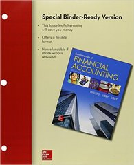 Loose-leaf for Fundamentals of Financial Accounting with Connect 5th Edition 9781259619007 1259619001
