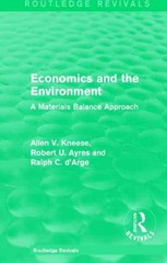 Economics and the  Environment 1st Edition 9781317402268 131740226X