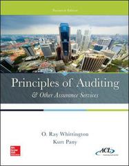 Principles of Auditing & Other Assurance Services with Connect 20th Edition 9781259619021 1259619028