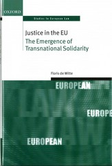 Justice in the EU 1st Edition 9780198724346 0198724349