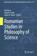 Romanian Studies in Philosophy of Science 1st Edition 9783319166551 3319166557
