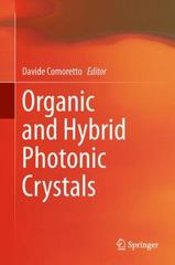 Organic and Hybrid Photonic Crystals 1st Edition 9783319165790 3319165798