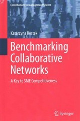 Benchmarking Collaborative Networks 1st Edition 9783319167350 3319167359