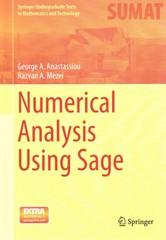 Numerical Analysis Using Sage 1st Edition 9783319167398 3319167391