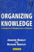 Organizing Knowledge 4th edition 9780754644316 0754644316