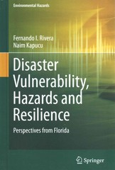 Disaster Vulnerability, Hazards and Resilience 1st Edition 9783319164533 3319164538