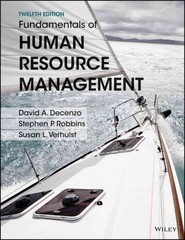 Fundamentals of Human Resource Management 12th Edition 9781119158851 1119158850