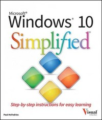 Windows 10 Simplified 1st Edition 9781119057154 1119057159