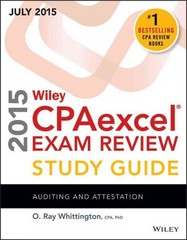 Wiley CPAexcel Exam Review 2015 Study Guide July 14th Edition 9781119119920 1119119928