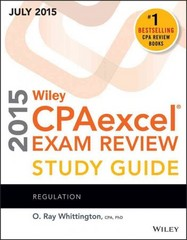 Wiley CPAexcel Exam Review 2015 Study Guide July 14th Edition 9781119119937 1119119936