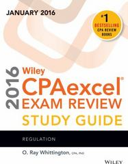 Wiley CPAexcel Exam Review 2016 Study Guide January 1st Edition 9781119119975 1119119979