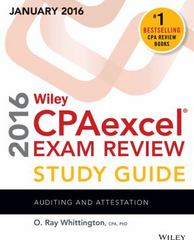 Wiley CPAexcel Exam Review 2016 Study Guide January 1st Edition 9781119119982 1119119987