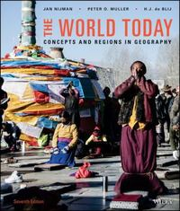 The World Today 7th Edition 9781119116424 1119116422
