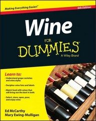 Wine For Dummies 6th Edition 9781119118848 1119118840
