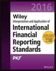 Wiley IFRS 2016 1st Edition 9781119104360 111910436X