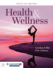 Health and Wellness 12th Edition 9781284067378 1284067378