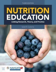 Nutrition Education 3rd Edition 9781284078046 1284078043