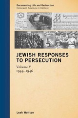 Jewish Responses to Persecution 1st Edition 9781442243361 1442243368