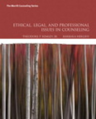 Ethical, Legal, and Professional Issues in Counseling 5th Edition 9780134082653 0134082656