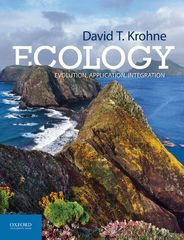 Ecology: Evolution, Application, Integration 1st Edition 9780190264550 0190264551