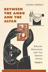 Between the Ambo and the Altar 1st Edition 9780814635841 0814635849