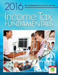 Income Tax Fundamentals 2016 (with H&R Block Premium & Business Access Code) 34th Edition 9781305664487 1305664485