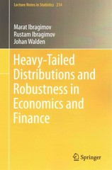 Heavy-Tailed Distributions and Robustness in Economics and Finance 1st Edition 9783319168777 3319168770