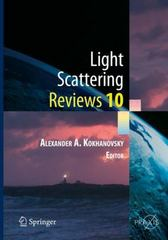 Light Scattering Reviews 10 1st Edition 9783662467626 3662467623