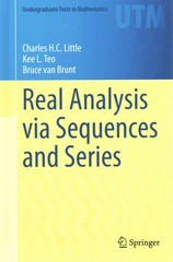 Real Analysis via Sequences and Series 1st Edition 9781493926510 1493926519