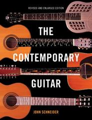 Contemporary Guitar 1st Edition 9781442237896 1442237899