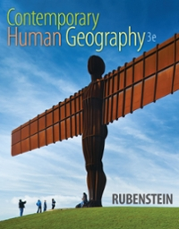 Contemporary Human Geography 3rd Edition 9780134040530 0134040538